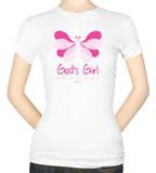 Womens: Butterfly Girl Unfading Beauty T-shirts