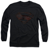 Long Sleeve: Man of Steel - MoS Iron Rust Shirt