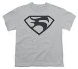 Youth: Man of Steel - Black Shield Shirt