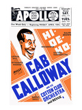 Apollo Theatre: Cab Calloway, Nicodemus, Sixteen Harperettes, Lethia Hill, and Dynamite Hooker Art