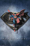 Man of Steel Superman Augmented Reality Movie Poster Prints