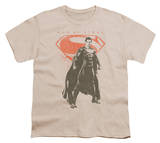 Youth: Man of Steel - Faded Superman T-shirts