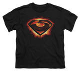 Youth: Man of Steel - Glowing Zod Shield T-shirts