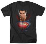 Man of Steel - Super Bust T-Shirt