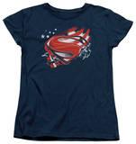 Womans: Man of Steel - Americas Hero Shirts