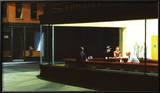Nighthawks, c.1942 Posters by Hopper Edward
