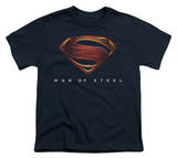 Youth: Man of Steel - MoS New Logo Shirt