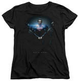 Womans: Man of Steel - Handcuffed Poster T-Shirt