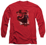 Long Sleeve: Man of Steel - Head Walking Shirts