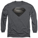 Long Sleeve: Man of Steel - MoS Desaturated T-Shirt