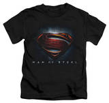Youth: Man of Steel - Man of Steel Shield T-shirts