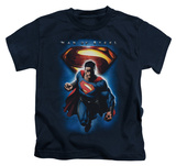 Youth: Man of Steel - Superman & Symbol Shirt