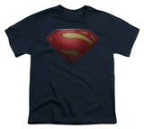 Youth: Man of Steel - MoS Shield T-shirts