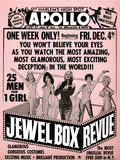 Apollo Theatre Jewel Box Revue: Gorgeous and Glamorous, 25 Men and 1 Girl Prints