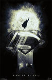Man of Steel Superman Glow in the Dark Movie Poster Posters