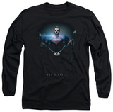Long Sleeve: Man of Steel - Handcuffed Poster T-Shirt