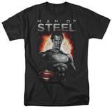 Man of Steel - Steel T-Shirt