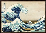 The Great Wave at Kanagawa (from 36 views of Mount Fuji), c.1829 Poster by Hokusai Katsushika