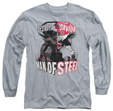Long Sleeve: Man of Steel - Good Vs Evil T-shirts