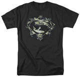 Man of Steel - Skulls And Symbols (slim fit) T-shirts