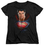 Womans: Man of Steel - Super Bust T-shirts