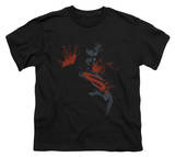 Youth: Man of Steel - Splatter Scowl T-shirts