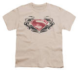Youth: Man of Steel - MoS Flourish Logo T-shirts