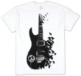 Crow Guitar T-shirts