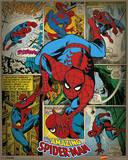 Marvel Comics - Spider-Man (Retro) Posters