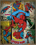 Marvel Comics - Spider-Man (Retro) Poster