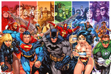 DC Comics - Justice League Of America - Generation Kunstdrucke