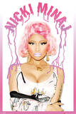 Nicki Minaj (Dripping Logo) Posters