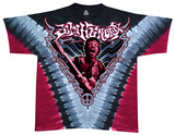 Jimi Hendrix - Scream V Dye T-shirts