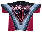 Jimi Hendrix - Scream V Dye Shirts