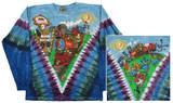 Long Sleeve: Grateful Dead - Casey Jones V - Tişört