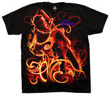 Jimi Hendrix - On Fire T-shirts