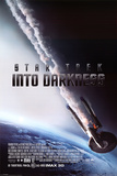 Star Trek (Into Darkness - Burning Enterprise Affiches