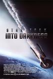 Star Trek: Do temnoty / Into Darkness, 2013 – Hořící Enterprise (filmový plakát vangličtině) Obrazy