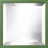 Confetti Grass Square Mirror Wall Mirror