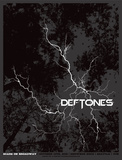 Deftones Serigraph by Mike Klay