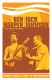Ben Harper, Jack Johnson Prints by Mike Klay