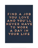 Job You Love Poster