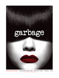 Garbage w/Screaming Females Serigraph by Mike Klay