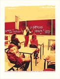 Marilyn Manson w/Butcher Babies Serigrafía por Mike Klay