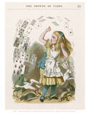 Alice Cards Print