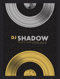 DJ Shadow Serigraph by Mike Klay
