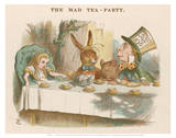 The Mad Tea Party Prints