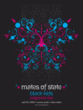 Mates of State, Black Kids, Judgement Day Serigraph by Mike Klay