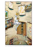 Alice Falling Kunstdruck