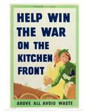 Kitchen Front Umělecké plakáty
